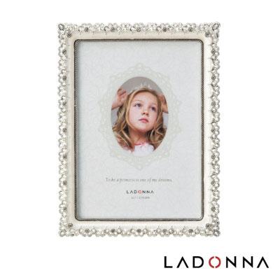 日本 LADONNA Bridal 幸福花嫁 絢麗鑽飾5×7相框