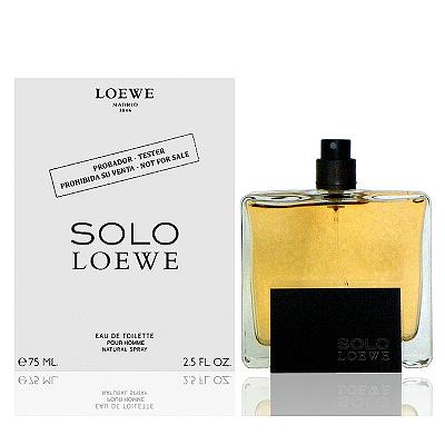 Loewe Solo 羅威先生淡香水 75ml Tester 包裝