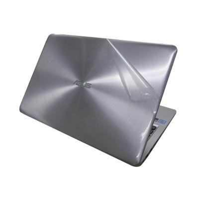 EZstick ASUS X541UV Carbon 黑色立體紋機身貼