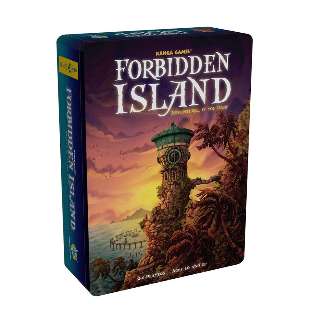 歐美桌遊 禁忌之島 FORBIDDEN ISLAND 中文版桌遊