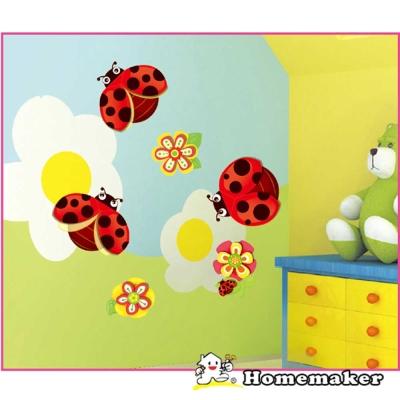 LK_可愛瓢蟲造型-創意壁貼 (LK-RCA0503)