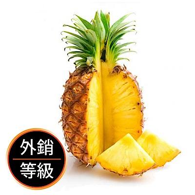 【果物配-任選699免運】金鑽鳳梨.有機轉型期(1.5斤)