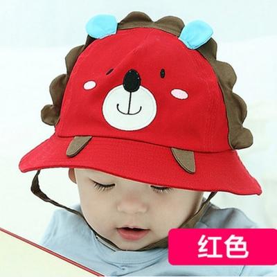 韓版-可愛小獅子造型兒童漁夫帽