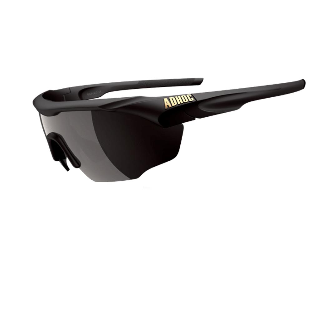 【ADHOC】運動太陽眼鏡-偏光灰片-半框式 MAX