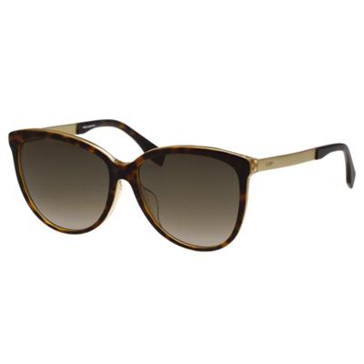 FENDI 時尚造型太陽眼鏡 (琥珀色)FF0095FS