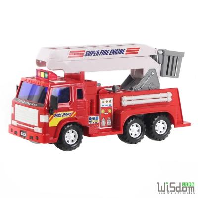 WISDOM 仿真磨輪動力車系列-消防雲梯車