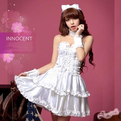 Lorraine 夢幻蕾絲女僕公主七件式角色扮演服