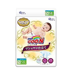 GOO.N日本大王黏貼型紙尿褲(S)58片/包-珍珠棉柔版