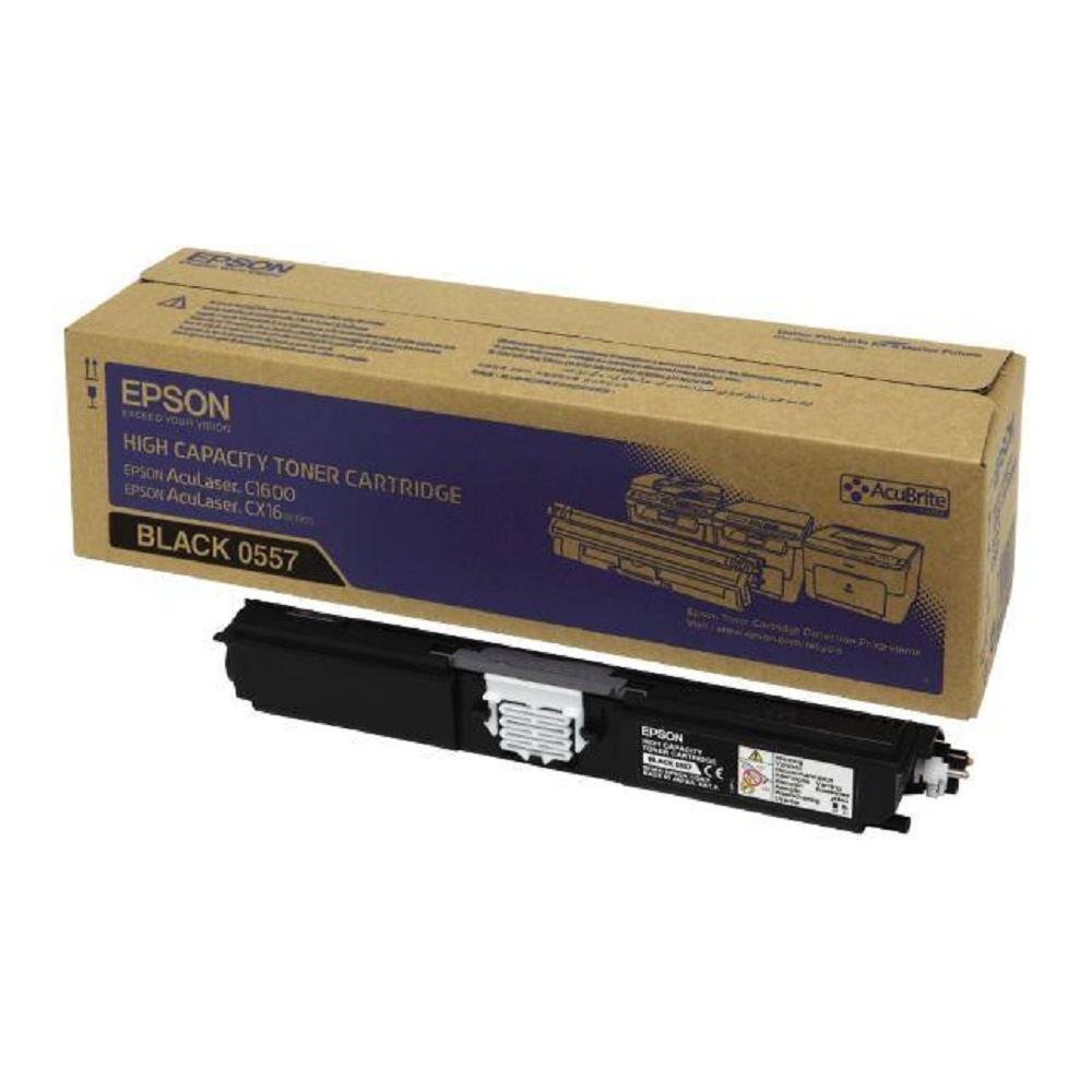 EPSON C13S050557黑色碳粉匣(2700張)
