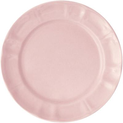 EXCELSA Chic陶製淺餐盤(粉22cm)