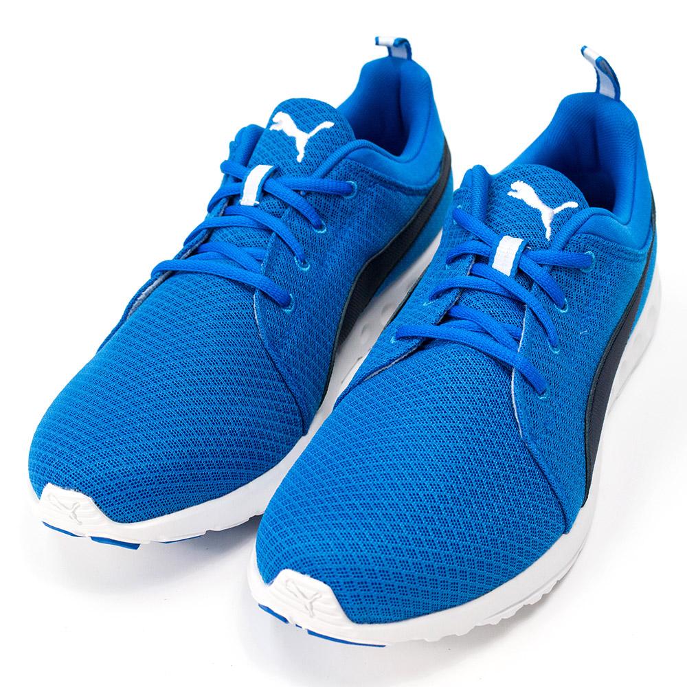 PUMA-男慢跑鞋18902402-藍