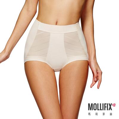 Mollifix-超自我-UP-DOWN翹臀平口褲-裸膚