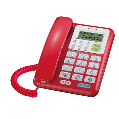 ALCATEL 阿爾卡特 有線電話 T222 TW
