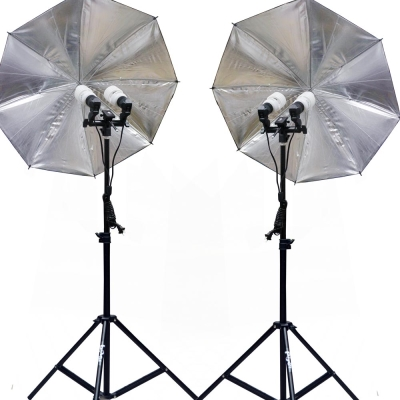 Paniko恆亮光源攝影棚雙燈組(A1000)