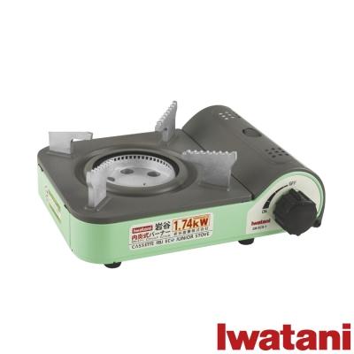 日本Iwatani 岩谷迷你內焰式省能源磁式ECO JUNIOR輕便戶外瓦斯爐