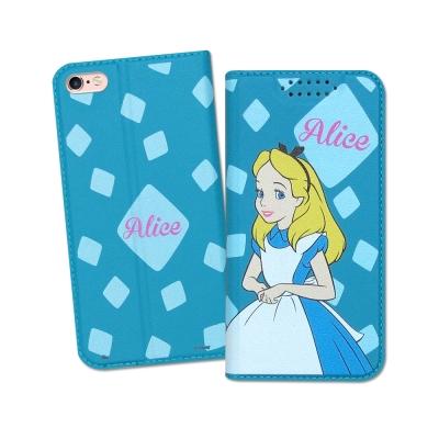 迪士尼授權正版 iPhone 6S Plus 5.5吋 印花系列彩繪皮套(愛麗絲)