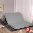 C'est Chic 日式三折獨立筒彈簧床墊6尺