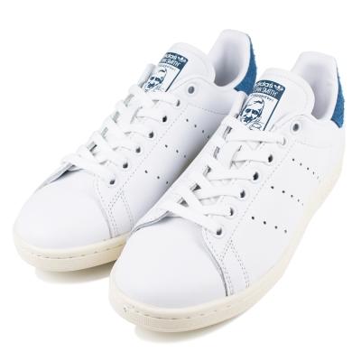 ADIDAS-STAN SMITH W女休閒鞋-白藍