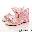 日本Carrot機能童鞋-高支撐涼鞋TO1814粉紅(中小童段)