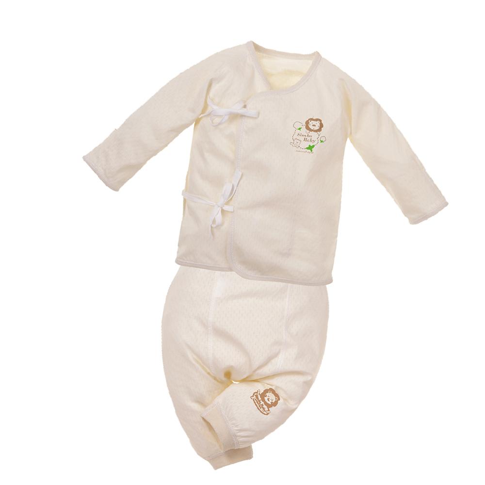 小獅王辛巴 有機棉反袖肚衣套裝(60cm)