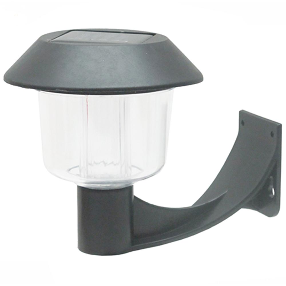 彎月型太陽能燈充電自動光控LED庭園燈壁燈超值2入(5004C2)