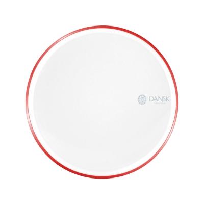 [Outlet] DANSK 陶瓷材質餐盤21cm-(紅色)