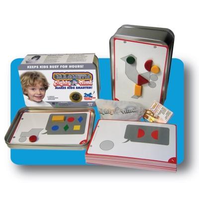 美國MightyMind卓越智慧思考拼圖-鋁盒磁石裝