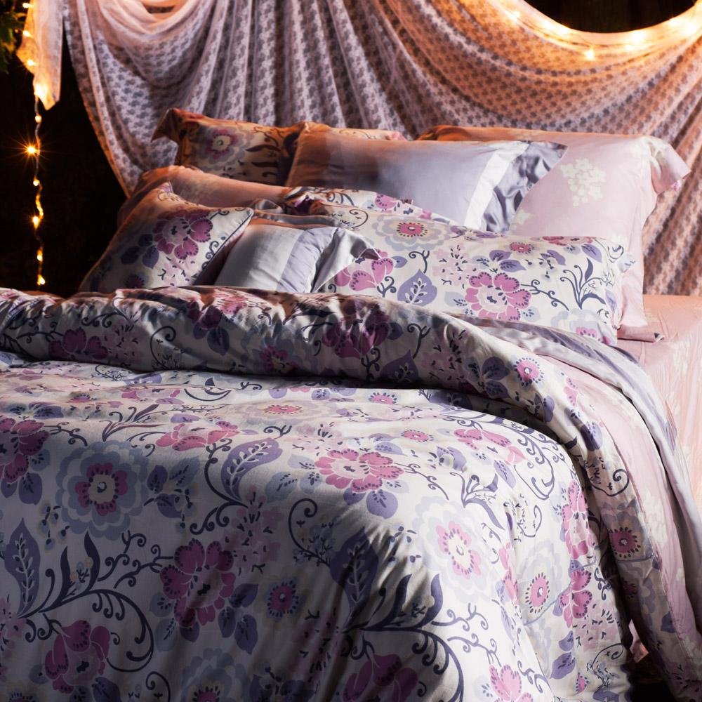 BBL 自由慶典100%精梳棉.印花加大四件式床包組
