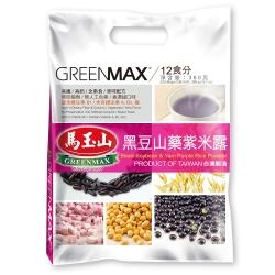 馬玉山 黑豆山藥紫米露(30gx12入)