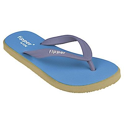 Fipper WIDE 天然橡膠拖鞋 BLUE-GREEN