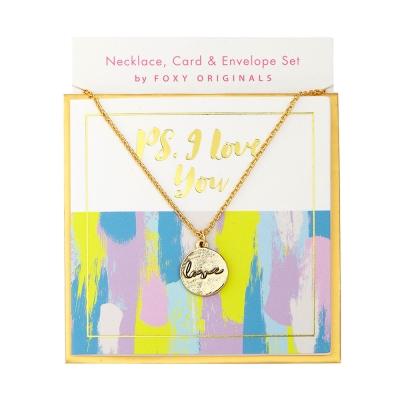 Foxy-Originals加拿大-Love愛的悄悄話金色項鍊