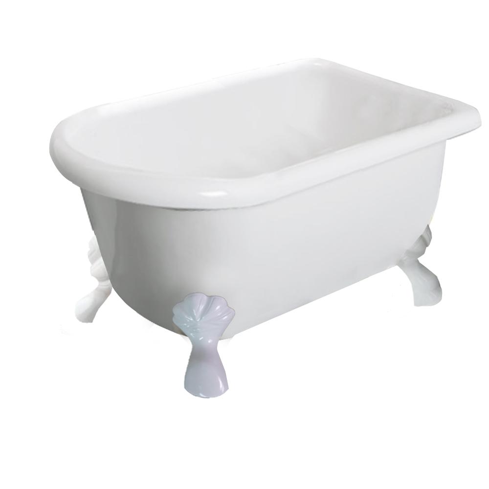 【I-Bath Tub精品浴缸】伊莉莎白-典雅白(120cm)