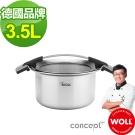 德國 WOLL  不袗24cm大容量深型湯鍋-6L
