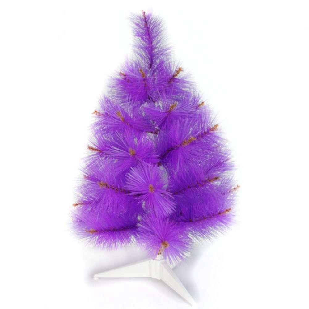 台製3尺(90cm)特級紫色松針葉聖誕樹 裸樹 (不含飾品不含燈)