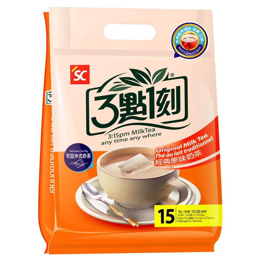 3點1刻 原味奶茶(20gx15包)