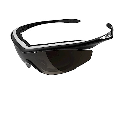 【ADHOC】運動太陽眼鏡-鍍膜鏡片-半框式SONAR Plus