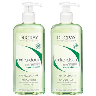 DUCRAY護蕾 溫和保濕洗髮精基礎型400mlx2