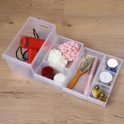 創意達人全能格格隔板收納盒24入組