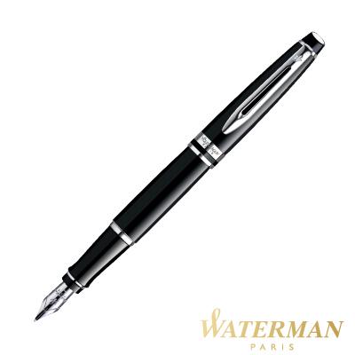 WATERMAN 權威系列 黑桿白夾 鋼筆