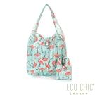 英國ECO CHIC折疊購物袋-紅鶴