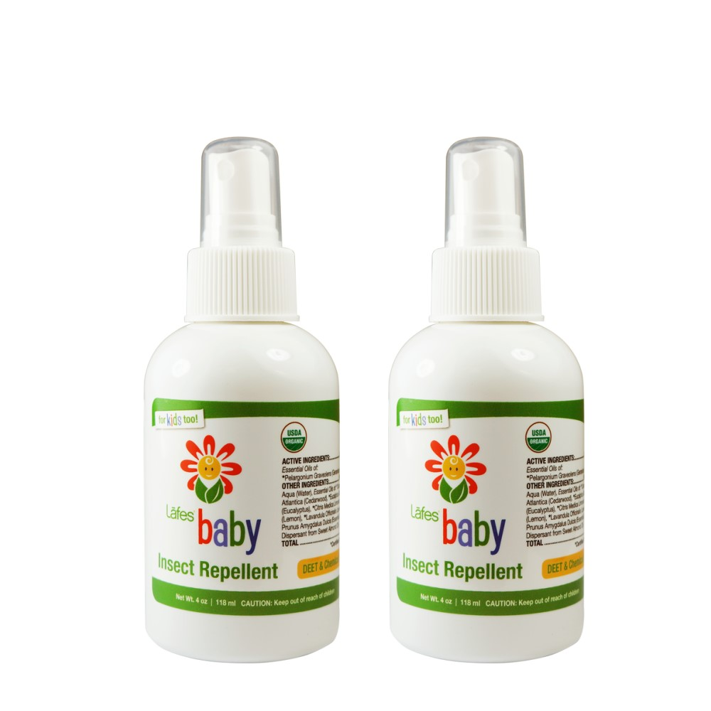 Lafes organic 有機嬰兒防蚊液x2