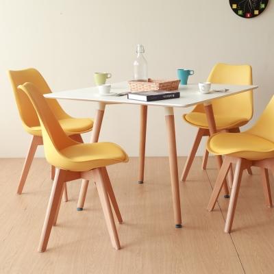 YKS Glen-格林無印風造型椅(四色可選)58.5x49x83.5CM