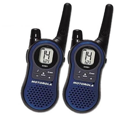 MOTOROLA摩托羅拉免執照無線電對講機SX-601(<b>2</b>支裝)
