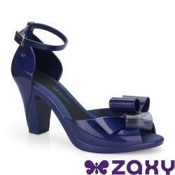 Zaxy 巴西 女 DIVA BOW膚色 甜美巨星高跟鞋 (藍)