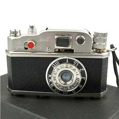 【Pearl 珍珠】復古相機造型煤油打火機