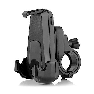 支架王 4.5吋~6吋手機適用自行車鷹爪手機支架-黑色