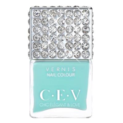 CEV超釉光極緻指彩- SM01 第凡內的早餐 指甲油15mL