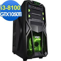 技嘉B360平台[白金中將]i3四核GTX1050Ti獨