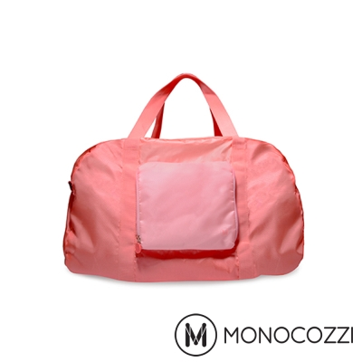 MONOCOZZI Lush Foldable Duffle Bag 折疊手提肩背包-粉紅