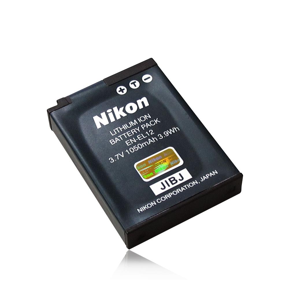 NIKON  EN-EL12 專用相機原廠電池 (全新密封包裝)